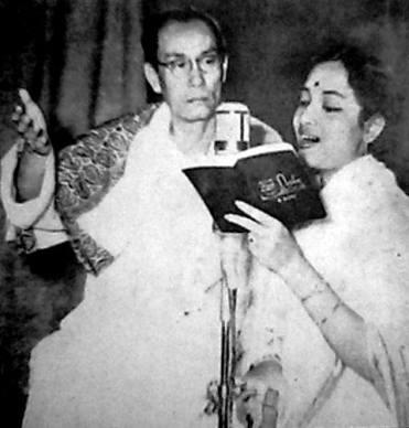 Geeta-Dutt and SD-Burman