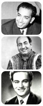 triad of singers